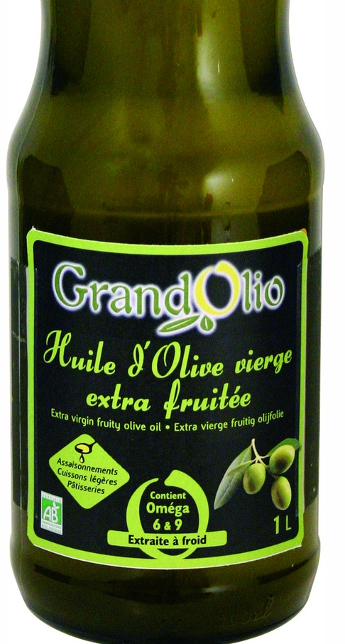 Huile d'olive vierge extra fruitée - 1l