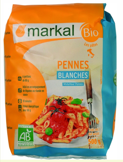 Pennes blancs - 500g